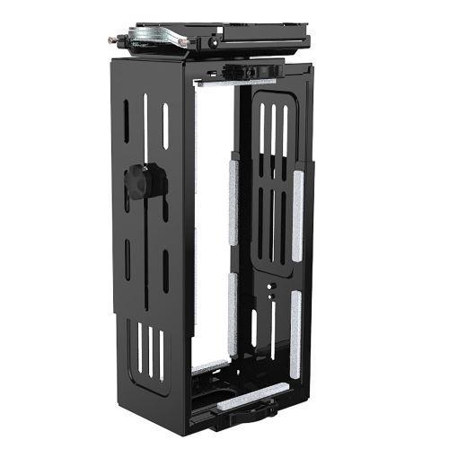 Halo large under desk CPU holder - black - Furniture