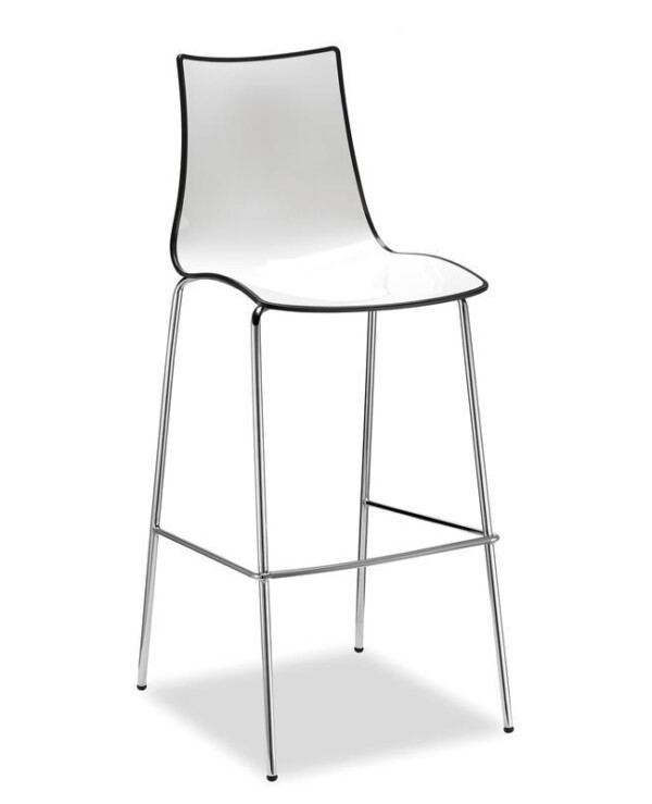 Gecko shell dining stool with anthracite legs - anthracite - Furniture