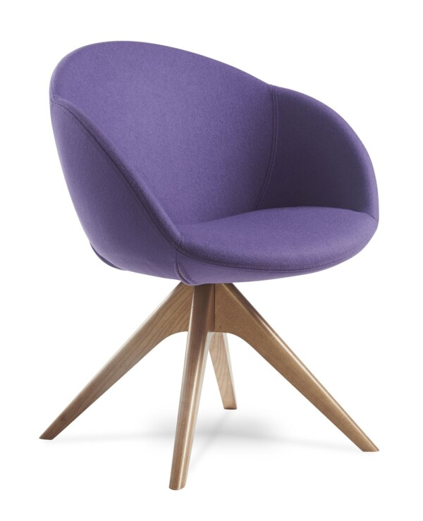 Joss lounge chair with chic appeal