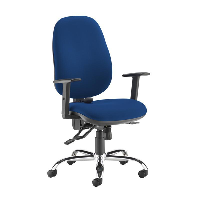 Jota ergo 24hr ergonomic asynchro task chair - Curacao Blue - Furniture