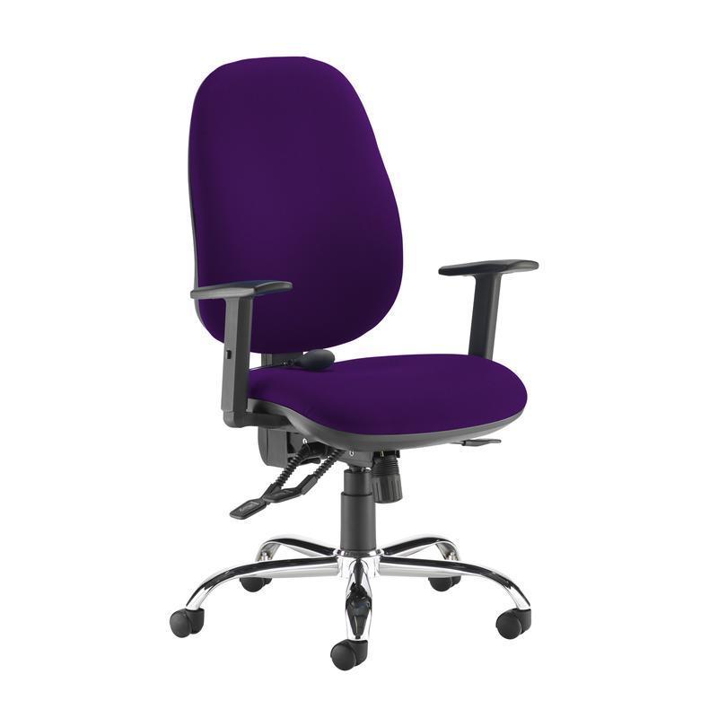Jota ergo 24hr ergonomic asynchro task chair - Tarot Purple - Furniture
