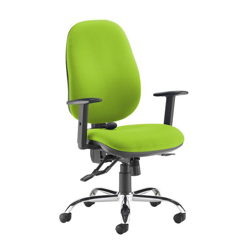 Jota ergo 24hr ergonomic asynchro task chair - Madura Green - Furniture