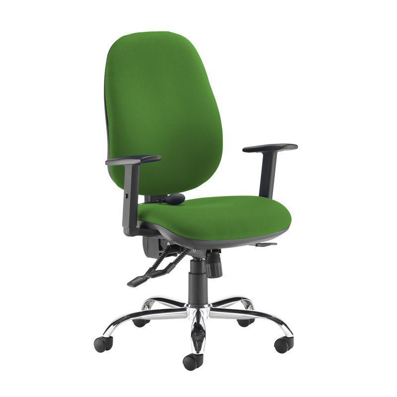 Jota ergo 24hr ergonomic asynchro task chair - Lombok Green - Furniture