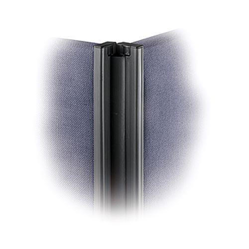 Floor standing fabric screen 2 way panel linking strip 1200mm - Furniture