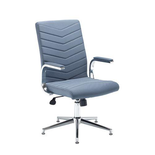Martinez high back managers chair - grey fabric - Furniture