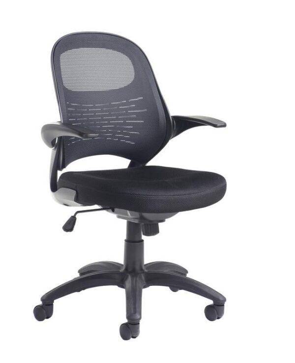 Orion mesh back operators chair - black - Furniture