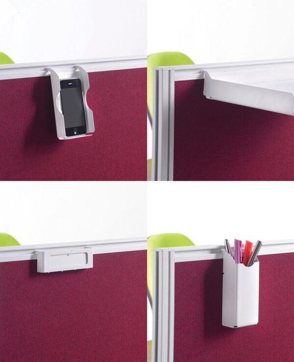 Screen accessories pack for aluminium frames screens - white - Furniture