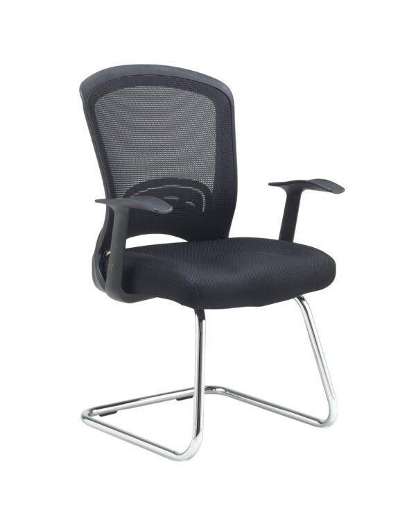 Solaris mesh visitors chair - black - Furniture