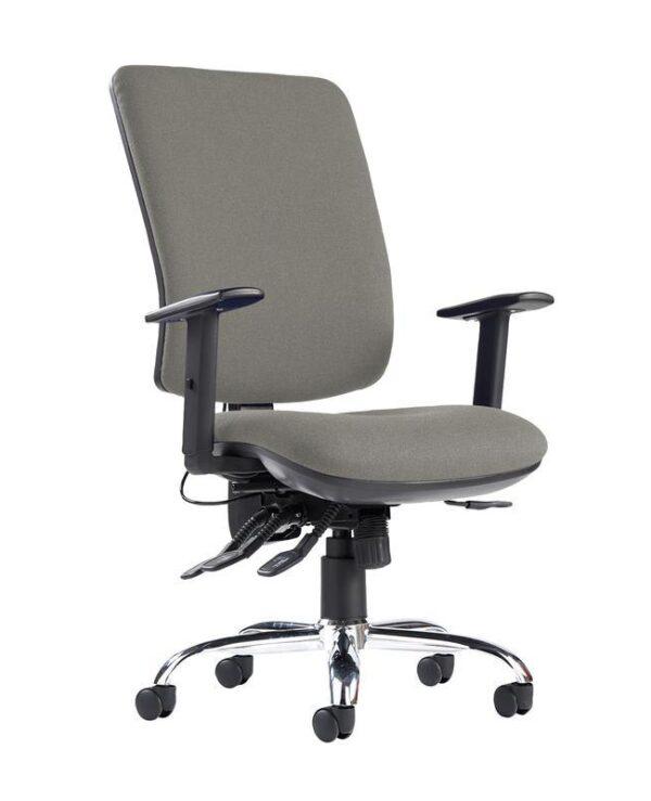 Senza ergo 24hr ergonomic asynchro task chair - Slip Grey - Furniture