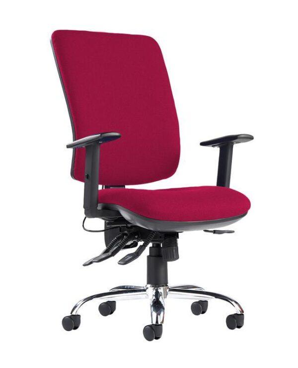 Senza ergo 24hr ergonomic asynchro task chair - Diablo Pink - Furniture
