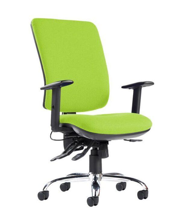 Senza ergo 24hr ergonomic asynchro task chair - Madura Green - Furniture
