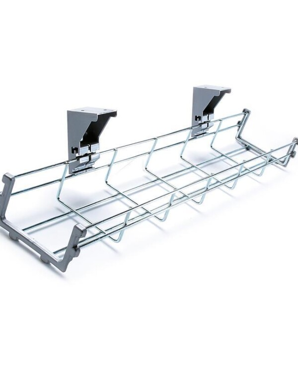 Drop down cable management tray 1400mm long - Furniture