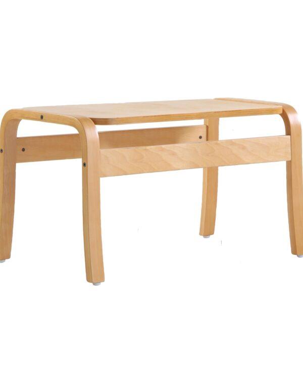 Yealm rectangular table 410mm x 380mm - beech - Furniture